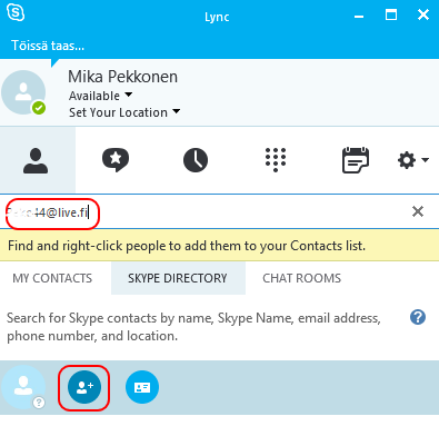 what is my skype name