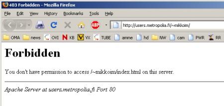 Http 403 Forbidden It Services Metropolia Confluence