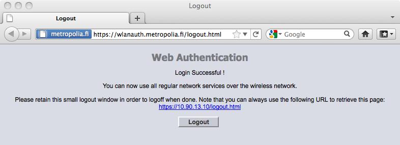 metropolia-guest Apple Macbook - IT Services - Metropolia