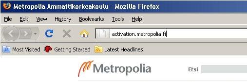 Metropolia Vaihto