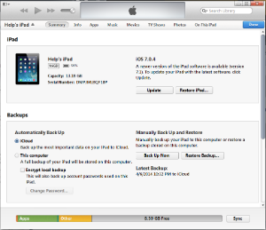 Make a Backup on PC using iTunes - IT Services - Metropolia